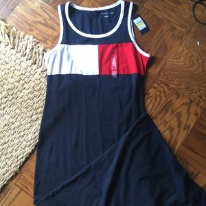 Tommy Hilfiger Logo Maxi Dress